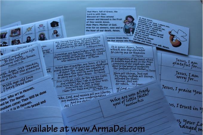 Prayer Journal Prompts Workshop Kit (PDF) – Arma Dei
