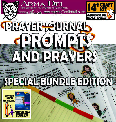 ArmaDei Prayer Journal Craft Kit